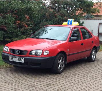 Tóth Péter autó